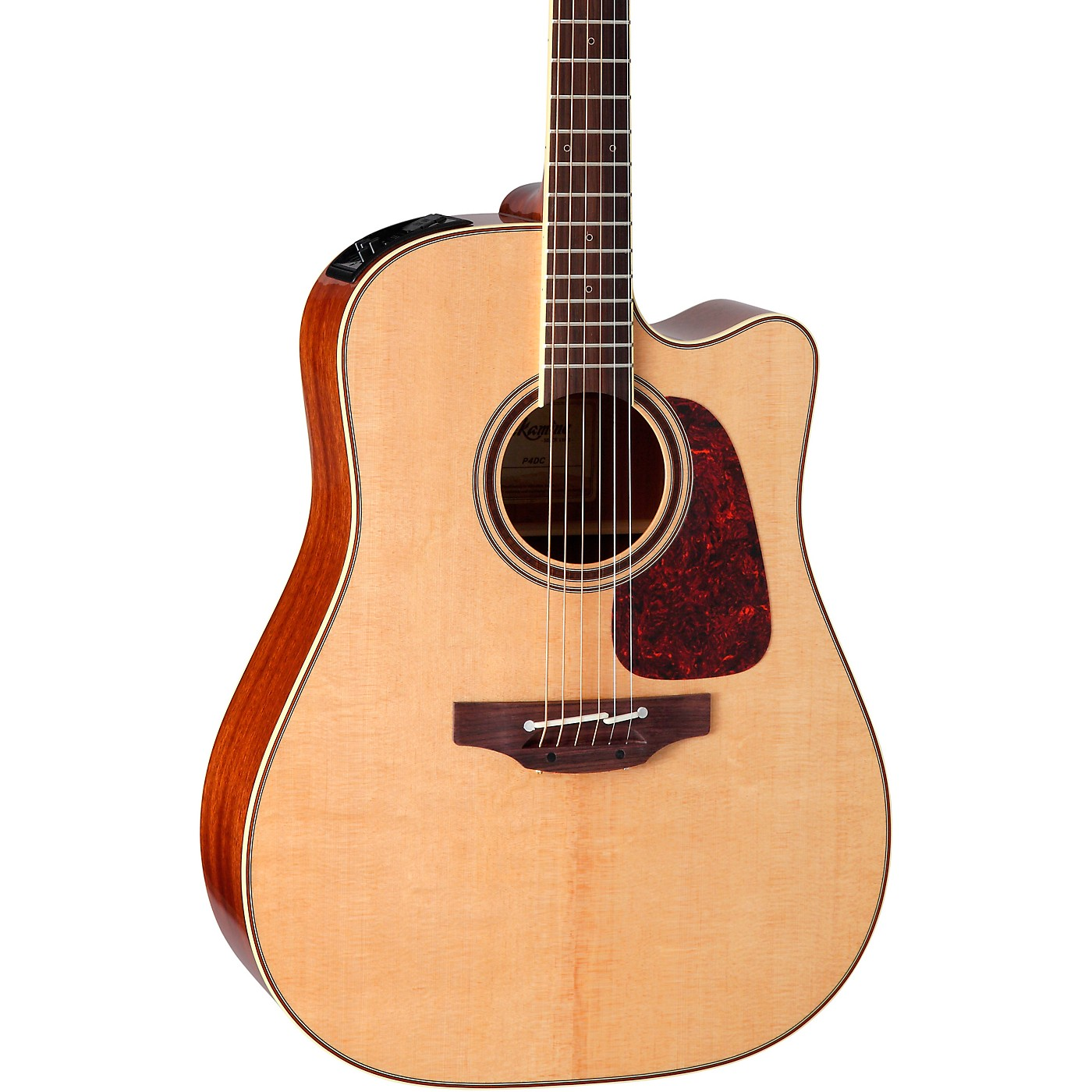 Takamine Pro Series 4 Dreadnought Cutaway Acoustic-Electric Guitar thumbnail