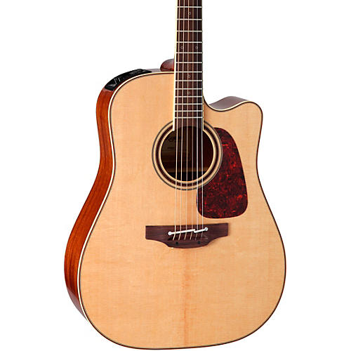 Takamine Pro Series 4 Dreadnought Cutaway Acoustic-Electric Guitar thumbnail