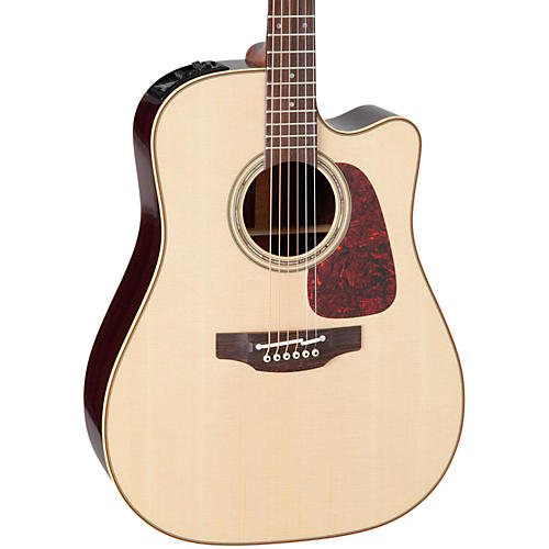 Takamine Pro Series 5 Dreadnought Cutaway Acoustic-Electric Guitar thumbnail