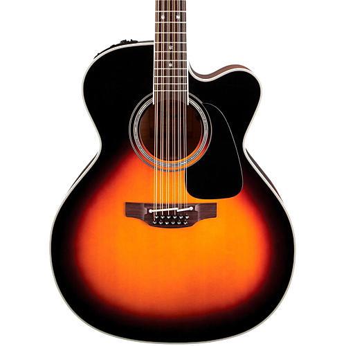 Takamine Pro Series 6 Jumbo Cutaway 12-String Acoustic-Electric Guitar thumbnail