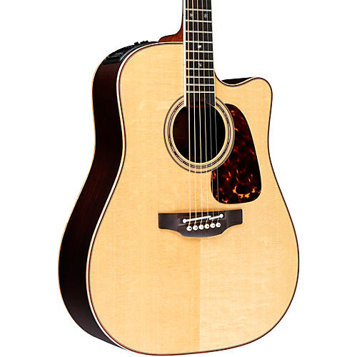 Takamine Pro Series 7 Dreadnought Cutaway Acoustic-Electric Guitar thumbnail