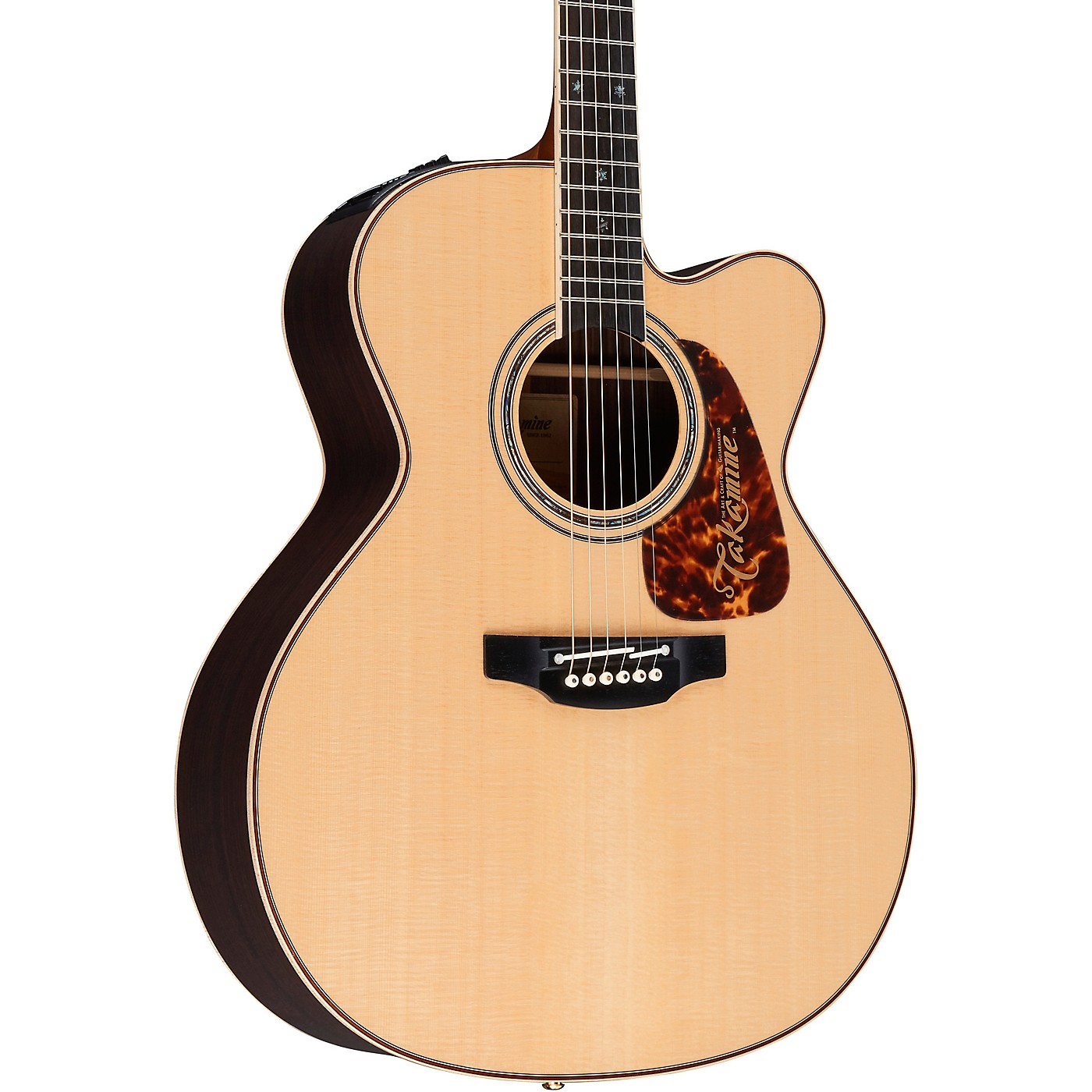 Takamine Pro Series 7 Jumbo Cutaway Acoustic-Electric Guitar thumbnail