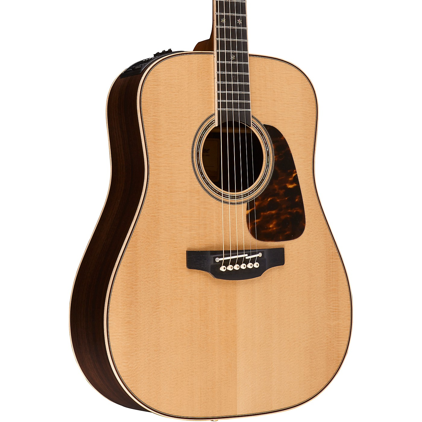 Takamine Pro Series P7D Dreadnought Acoustic-Electric Guitar thumbnail