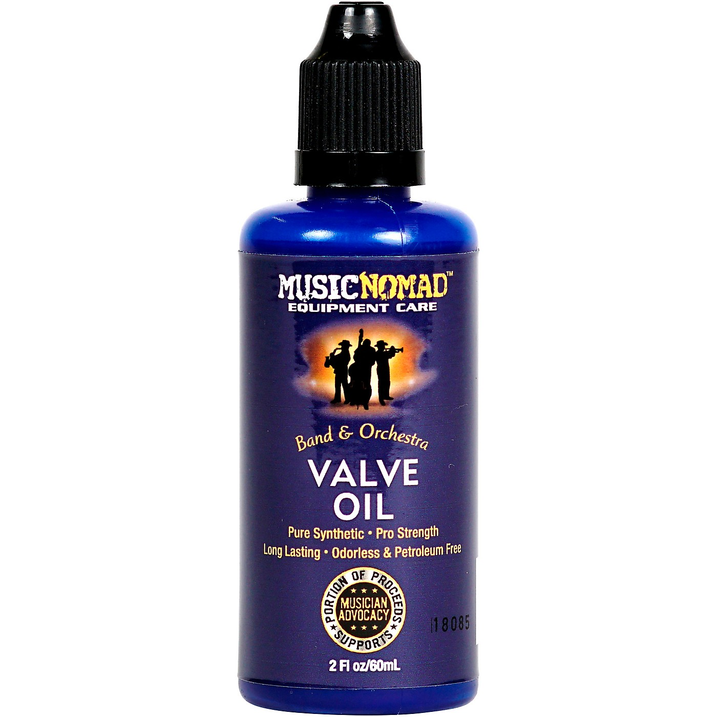 Music Nomad Pro Strength Pure Synthetic Valve Oil thumbnail