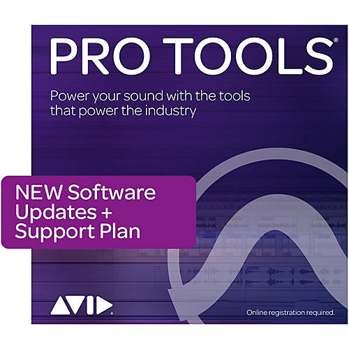 Avid Pro Tools 1-Year Software Updates + Support Plan NEW for Perpetual Licenses (Boxed) thumbnail