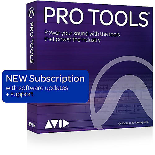 Avid Pro Tools 1-Year Subscription NEW With Updates + Support for a Year (Boxed) thumbnail