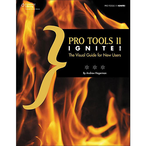 Cengage Learning Pro Tools 11 Ignite!: The Visual Guide for New Users Book thumbnail