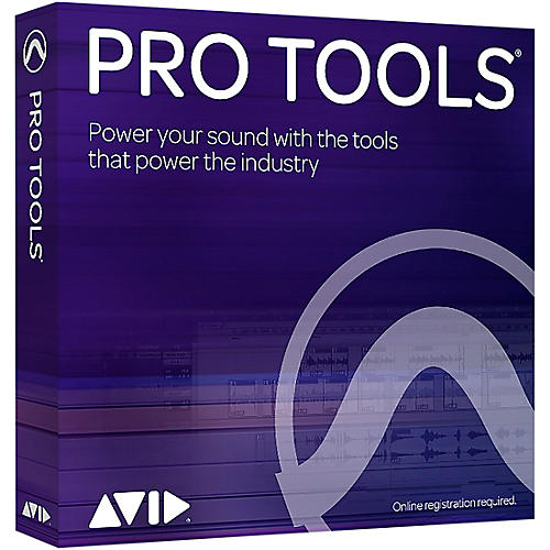 Avid Pro Tools 2018 with 1-Year of Updates + Support Plan (Boxed) thumbnail