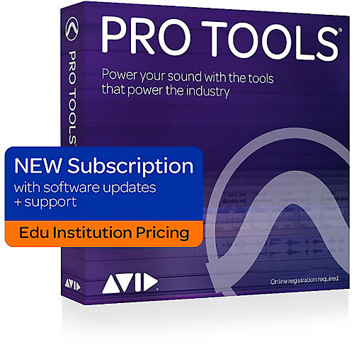 Avid Pro Tools Annual Subscription (1 Year) - Institution thumbnail