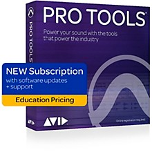 Avid Pro Tools Annual Subscription (1 Year) - Student/Teacher