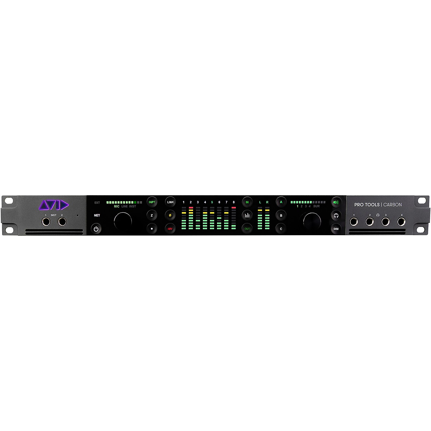 Avid Pro Tools | Carbon Hybrid Ethernet Audio Interface thumbnail