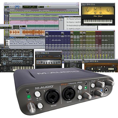 Avid Pro Tools MP + Fast Track Pro-thumbnail