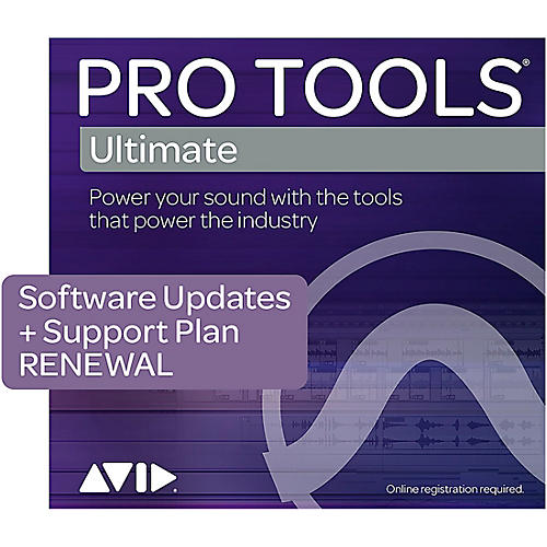 Avid Pro Tools Ultimate 1-Year Software Updates + Support Plan RENEWAL (Boxed) thumbnail