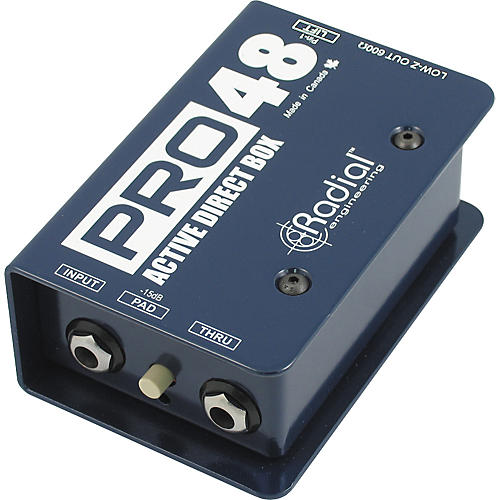 Radial Engineering Pro48 Active 48-Volt Compact Active Direct Box-thumbnail