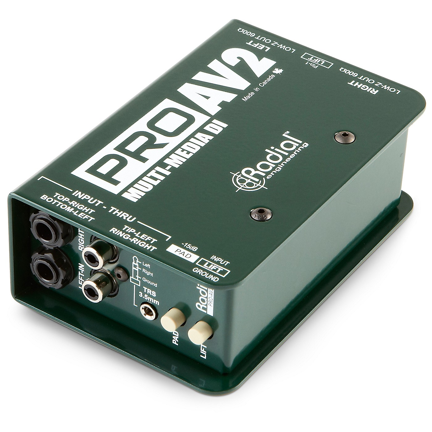 Radial Engineering ProAV2 Stereo Direct Box thumbnail