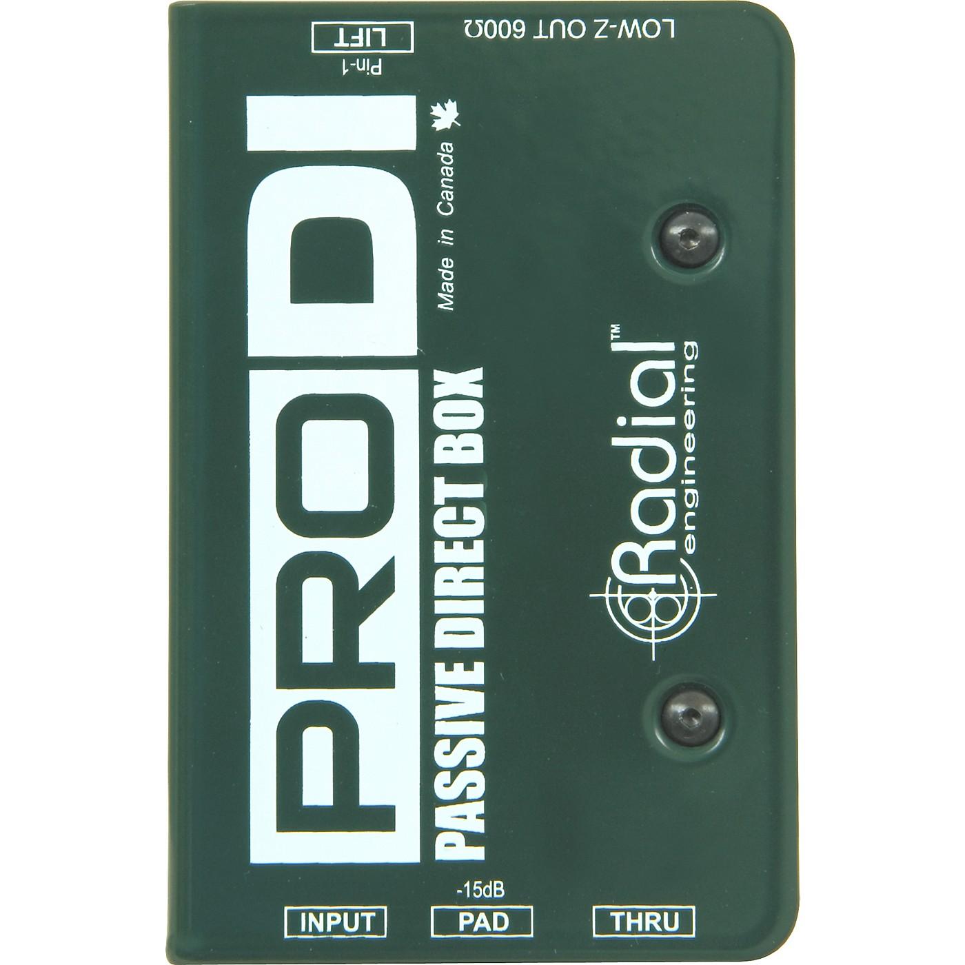 Radial Engineering ProDI Passive Direct Box thumbnail