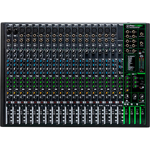 Mackie ProFX22v3 22-Channel 4-Bus Professional Effects Mixer with USB thumbnail