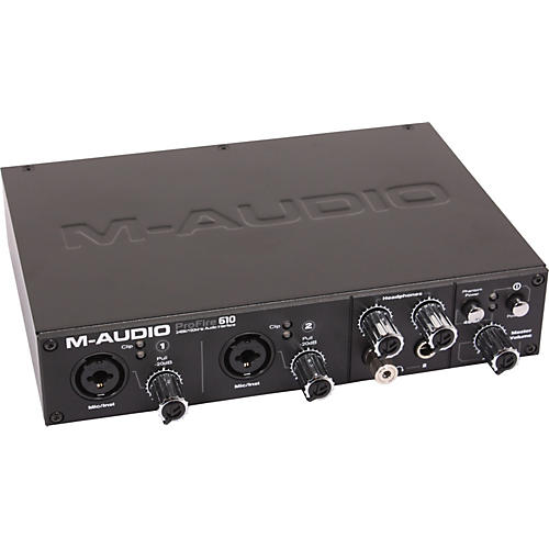 M-Audio ProFire 610 Firewire Recording Interface thumbnail