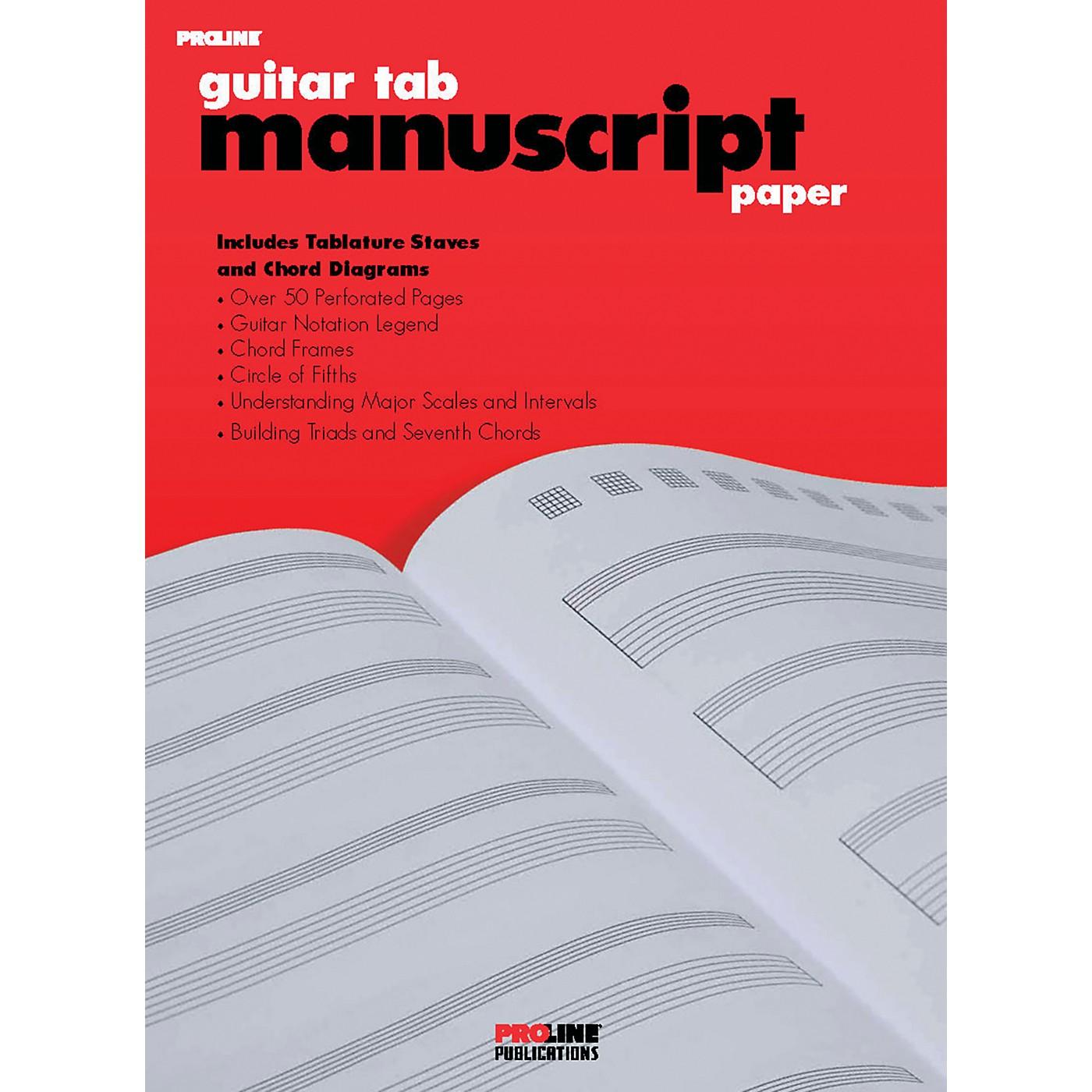 Proline ProLine Guitar Tab Manuscript Paper thumbnail