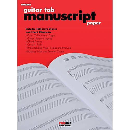 Proline ProLine Guitar Tab Manuscript Paper-thumbnail