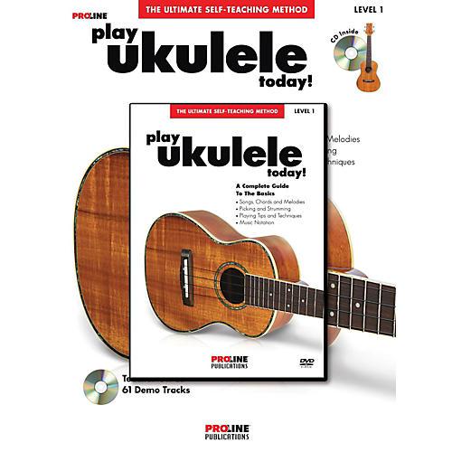 Proline ProLine Play Ukulele Today! Method (Book/CD/DVD) thumbnail