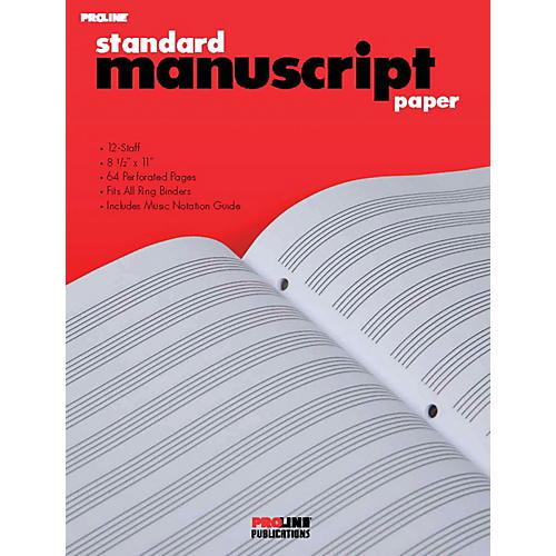 Proline ProLine Standard Manuscript Paper thumbnail