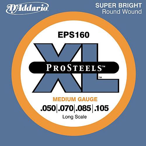 D'Addario ProSteels EPS160 Medium Gauge Long Scale Bass Strings thumbnail