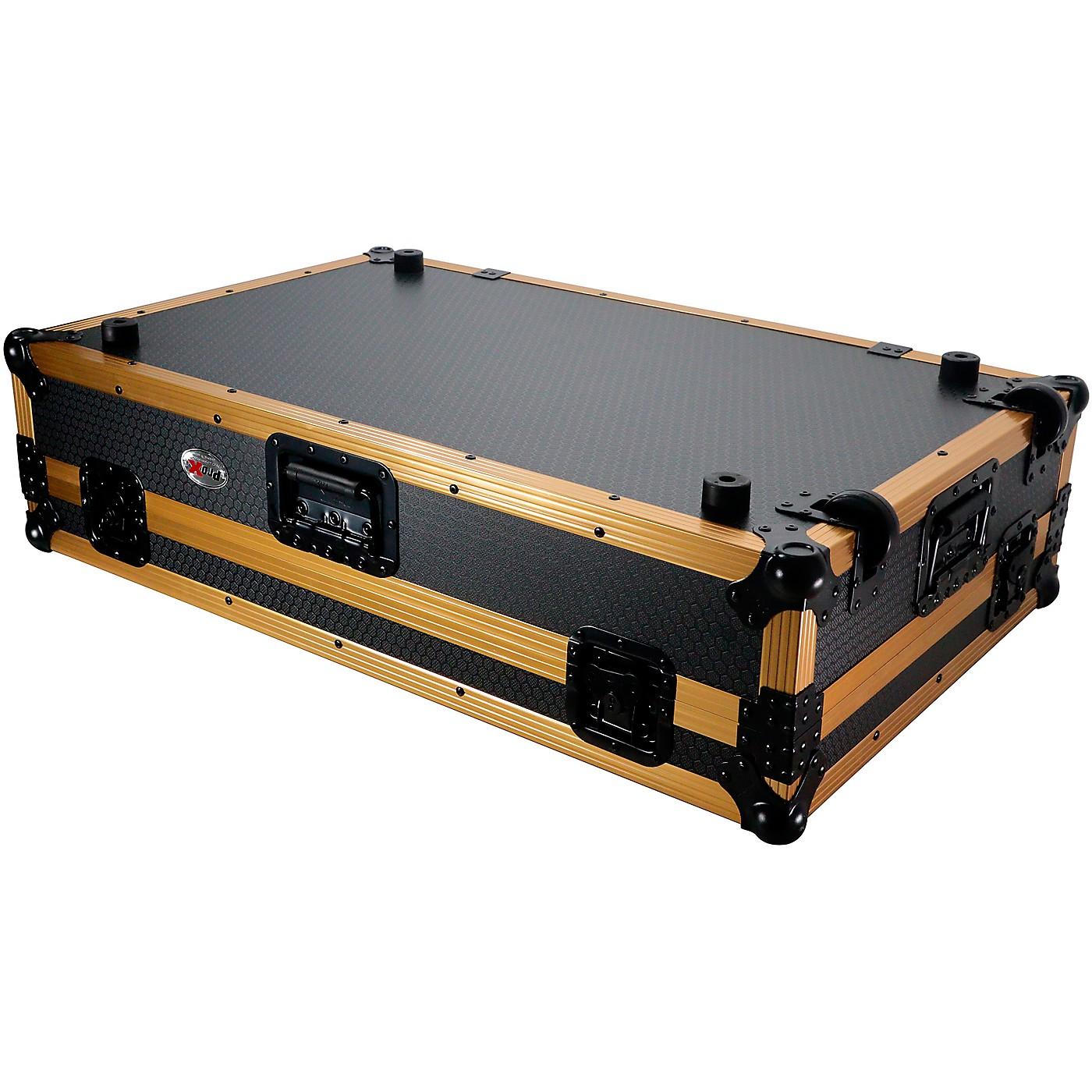 ProX ProX Case fits DDJ-1000, DDJ-SX, FLX6 and MC7000 with Gold Aluminum Frame thumbnail