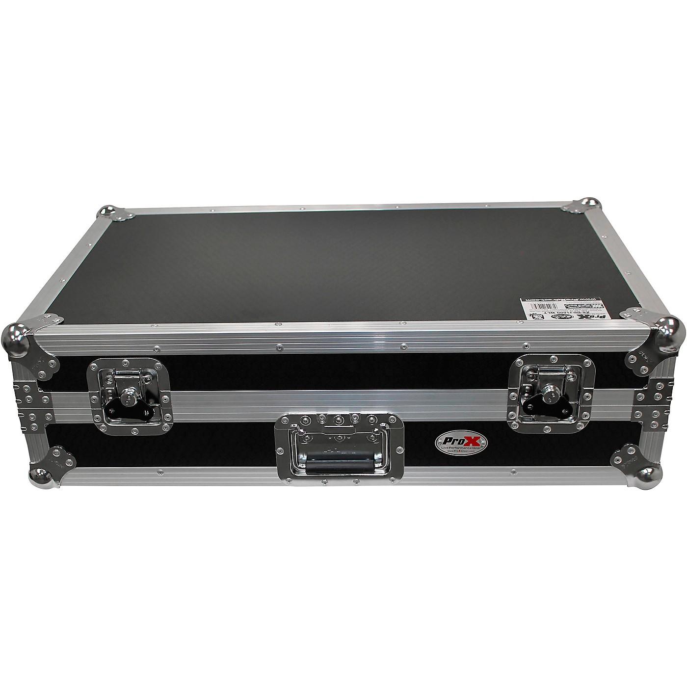 ProX ProX Pioneer DDJ-1000 Case w/ Sliding Laptop Shelf & Wheels thumbnail