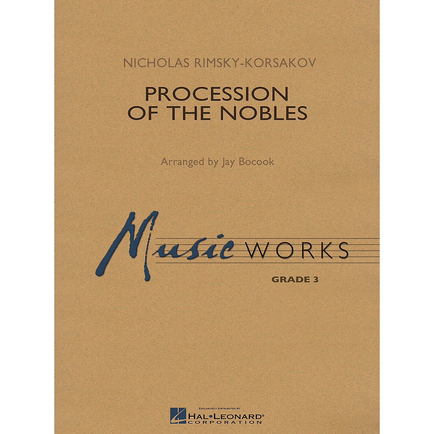 Hal Leonard Procession of the Nobles Concert Band Level 3 Arranged by Jay Bocook thumbnail