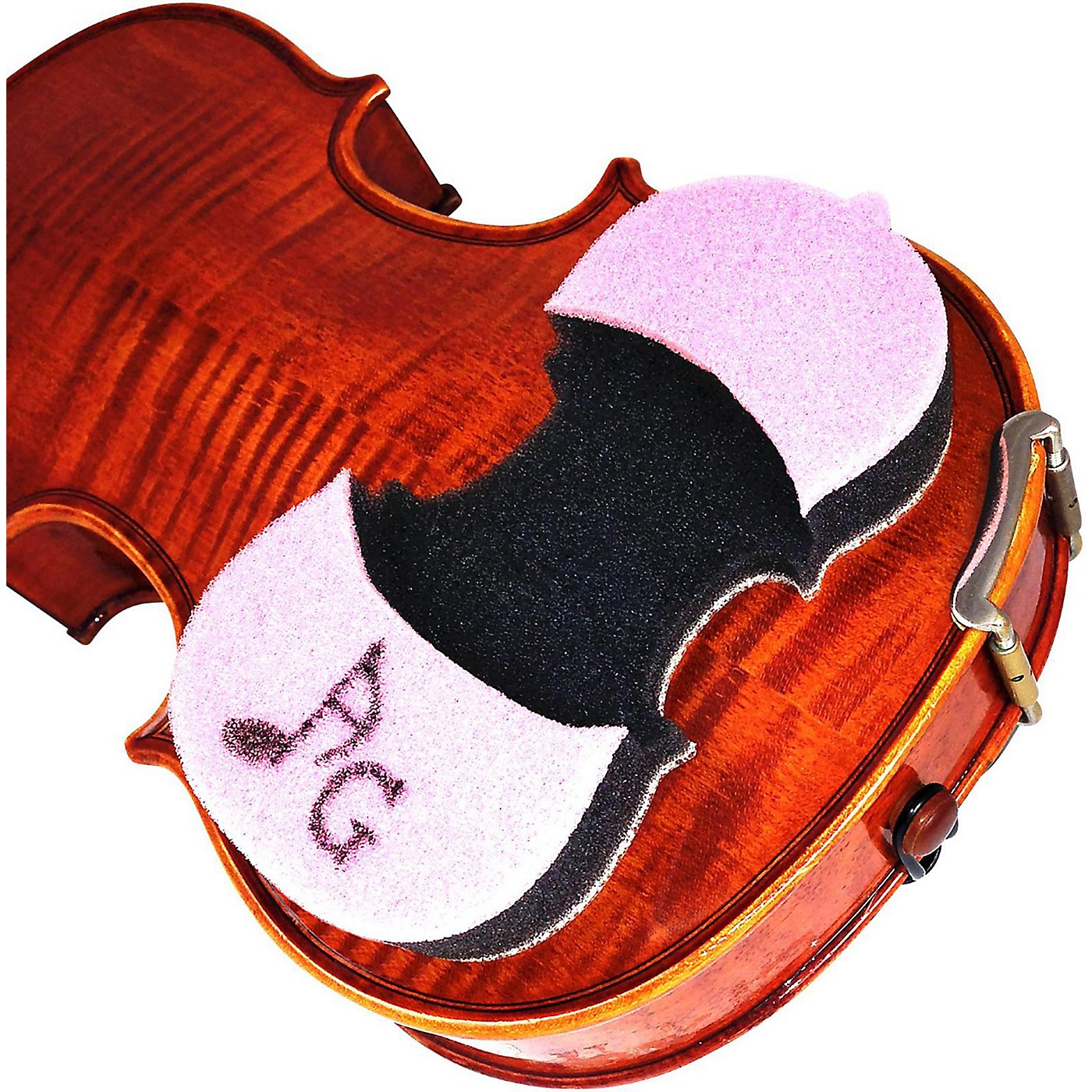 AcoustaGrip Prodigy Pink Violin and Viola Shoulder Rest thumbnail