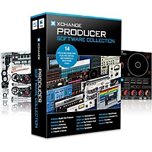 XCHANGE Producer Collection with Presonus, Cakewalk, IK Multimedia, Image Line, Loop Loft, Ohm Force, and Sonnox