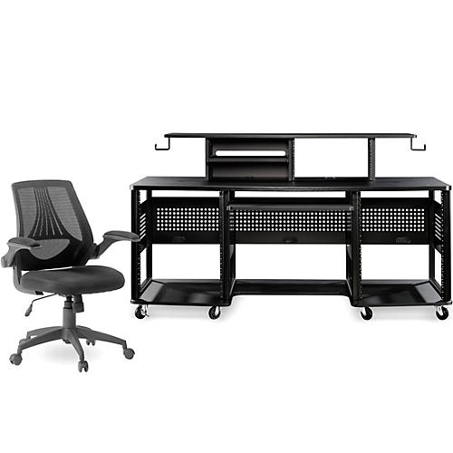 Studio RTA Producer Station Black and Mesh Managers Office Chair Bundle thumbnail
