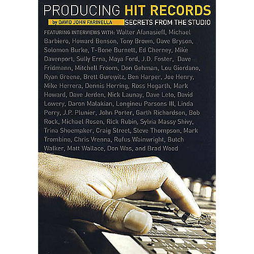 Schirmer Trade Producing Hit Records (Secrets from the Studio) Omnibus Press Series Softcover thumbnail