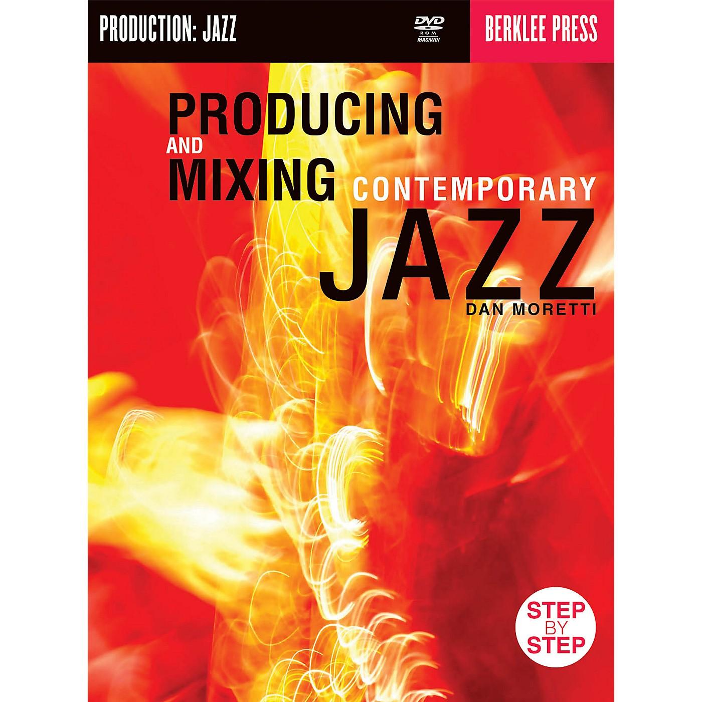 Berklee Press Producing & Mixing Contemporary Jazz Berklee Guide Series CD-ROM Written by Dan Moretti thumbnail