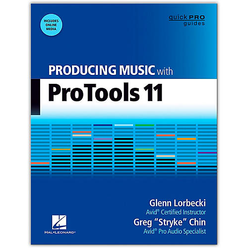 Hal Leonard Producing Music With Pro Tools 11 Book/Online Audio thumbnail