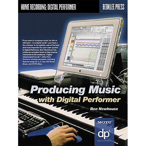 Berklee Press Producing Music with Digital Performer (Book/CD-ROM) thumbnail
