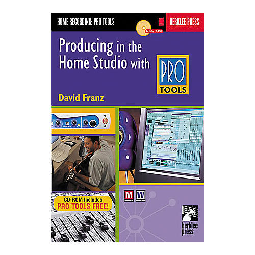 Hal Leonard Producing in the Home Studio with Pro Tools Book thumbnail