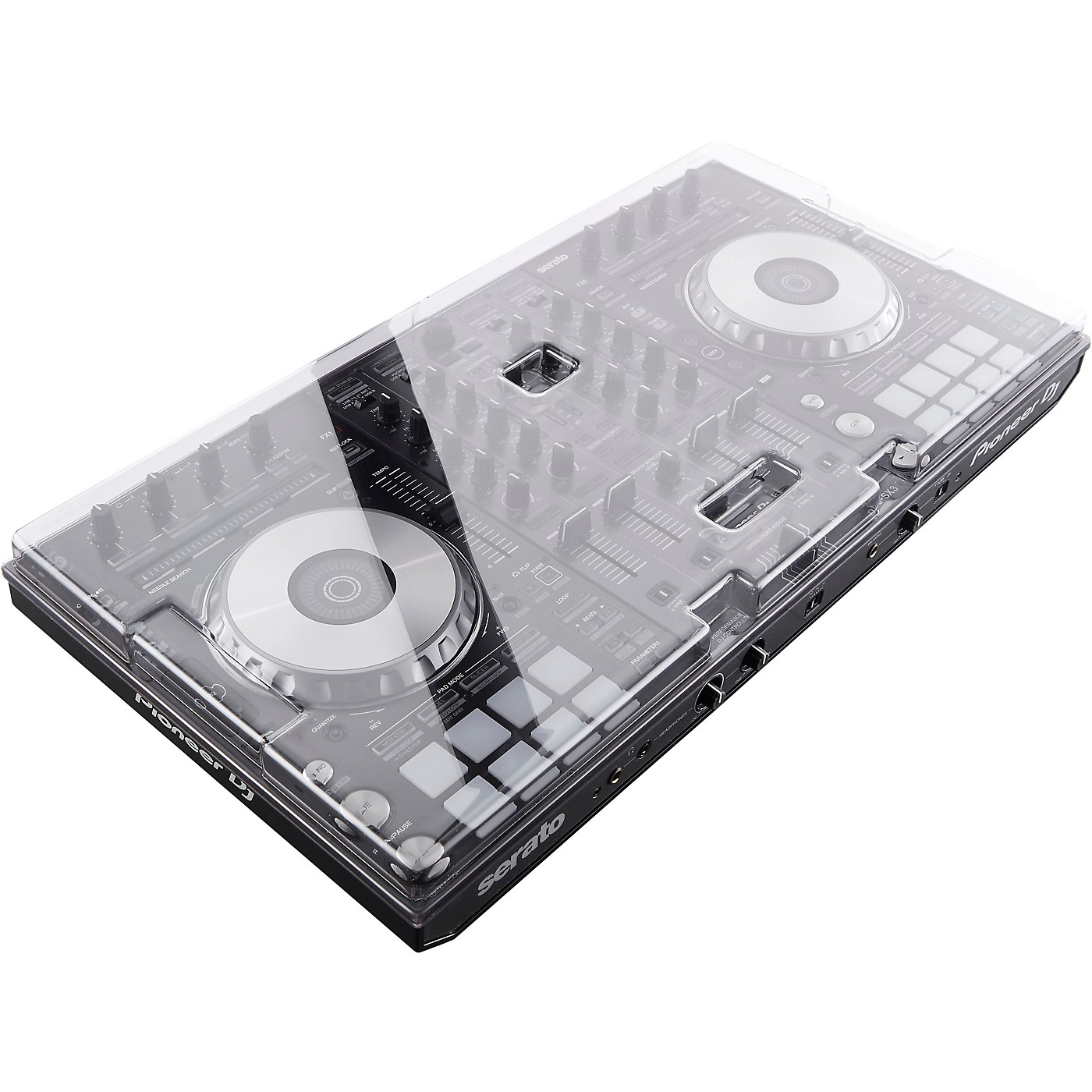 Decksaver Professional Clear Polycarbonate Cover for Pioneer DDJ-SX3 DJ Controller thumbnail