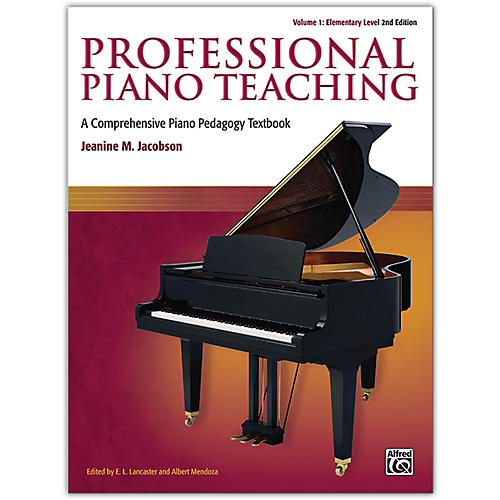 Alfred Professional Piano Teaching, Volume 1 (2nd Edition) Elementary Levels thumbnail