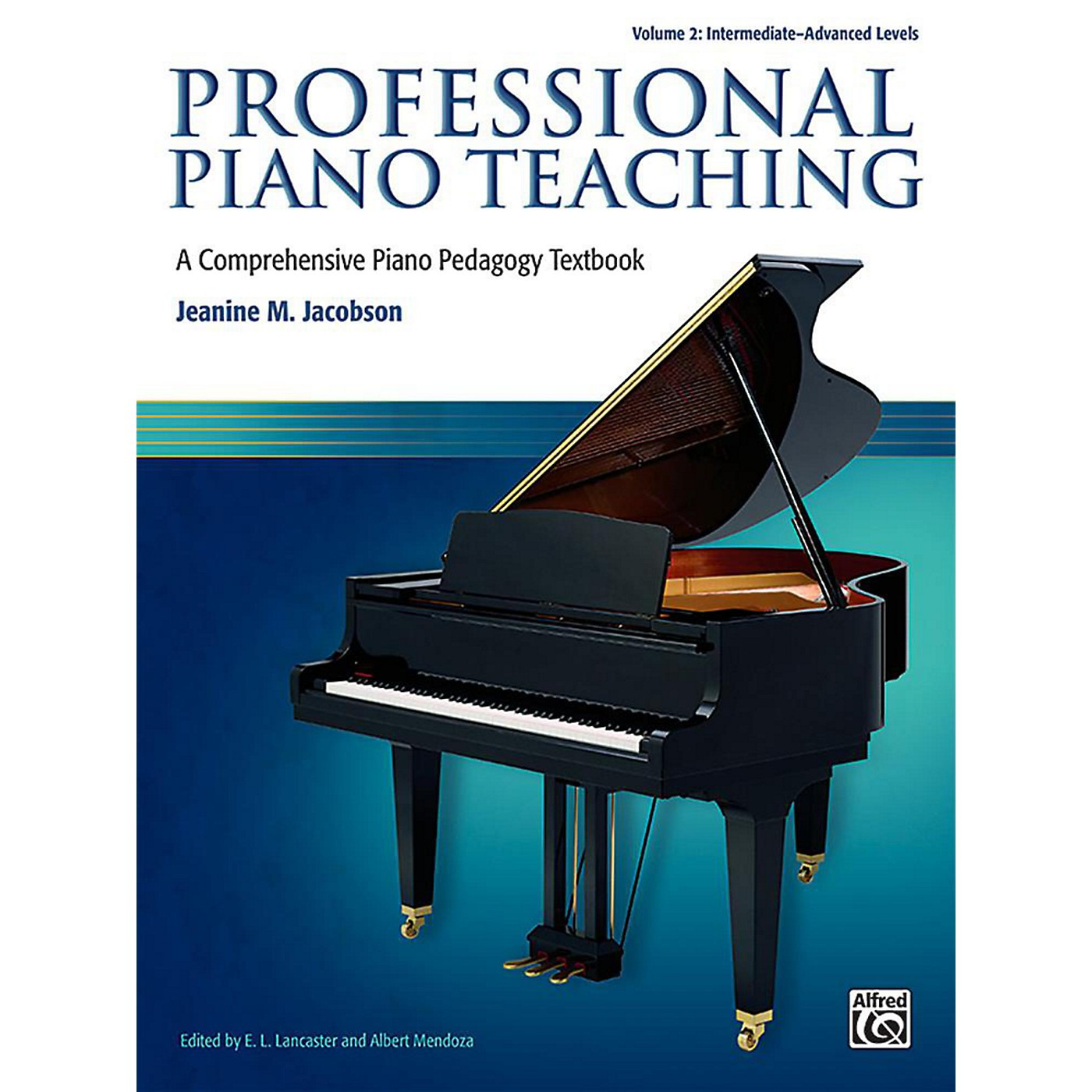 Alfred Professional Piano Teaching, Volume 2 - Intermediate / Advanced thumbnail