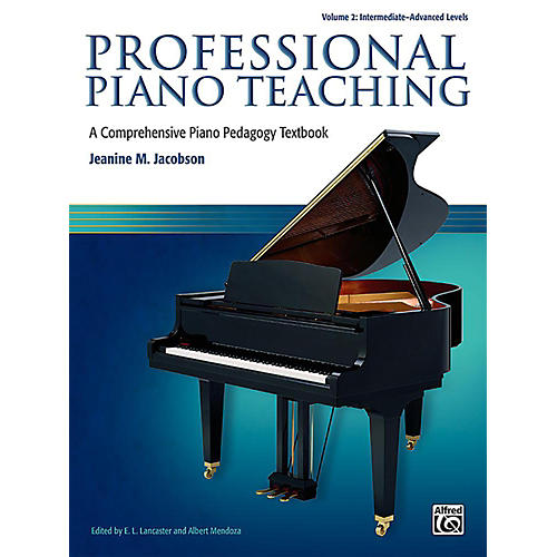 Alfred Professional Piano Teaching, Volume 2 - Intermediate / Advanced thumbnail