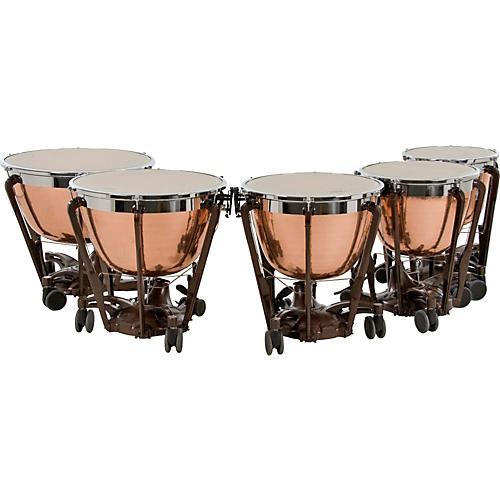 Adams Professional Series Generation II Cambered Copper Timpani, Set of 5-thumbnail