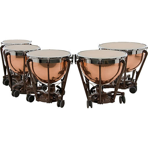 Adams Professional Series Generation II Hammered Copper Timpani, Set of 5 thumbnail