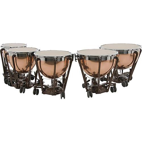 Adams Professional Series Generation II Polished Copper Timpani, Set of 5 thumbnail