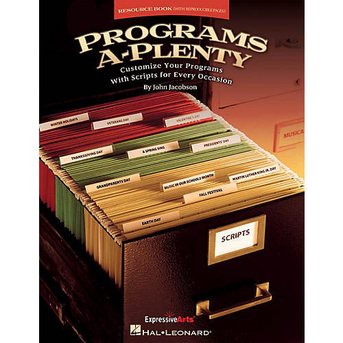 Hal Leonard Programs A-Plenty (Customize Your Programs With Scripts for Every Occasion) RESOURCE BK thumbnail