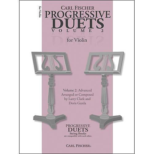 Carl Fischer Progressive Duets For Violin Volume 2: Advanced thumbnail