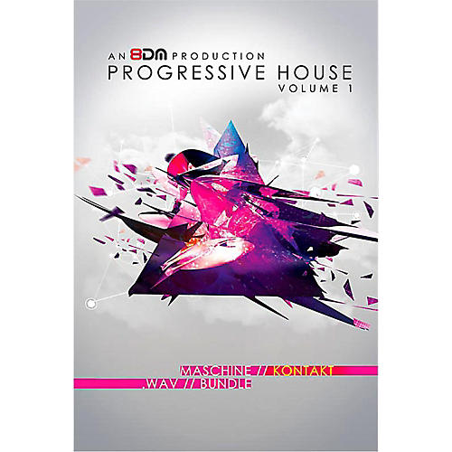 8DM Progressive House Vol 1 for Kontakt thumbnail
