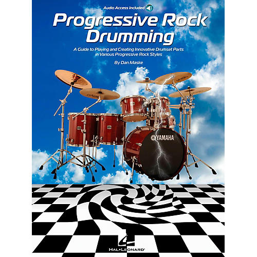 Hal Leonard Progressive Rock Drumming Book w/ Online Audio thumbnail