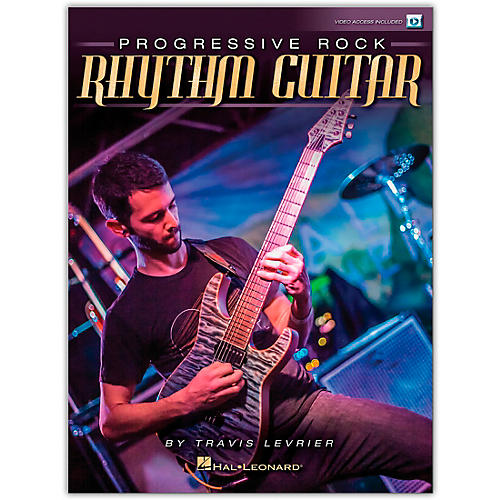 Hal Leonard Progressive Rock Rhythm Guitar (Book/Video Online) thumbnail